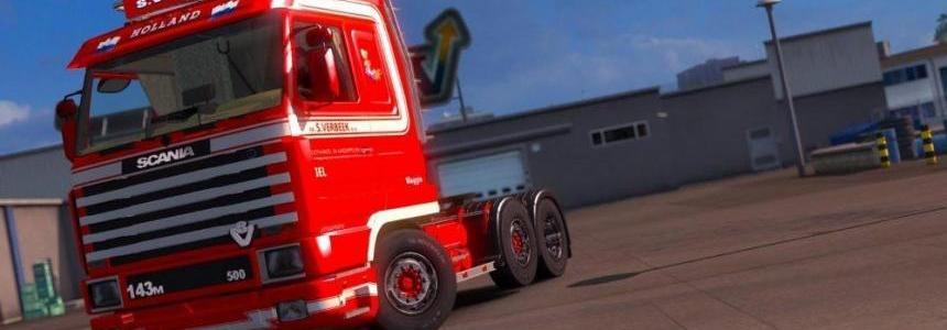 Scania 143M S.Verbeek v1.0