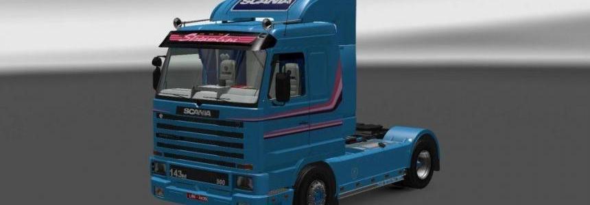 Scania 143M Streamline Skin