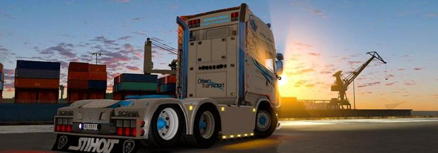 Scania 50k Olsen Transport v1.0