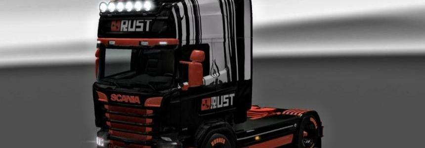 Scania RJL RUST skin 1.27.x