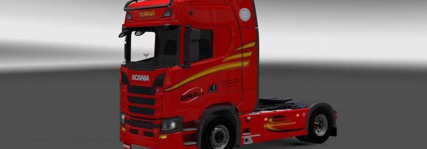 Scania S730 Agenau Group skin 1.27