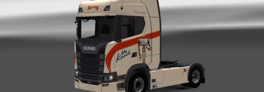 Scania S730 Konti skin 1.27