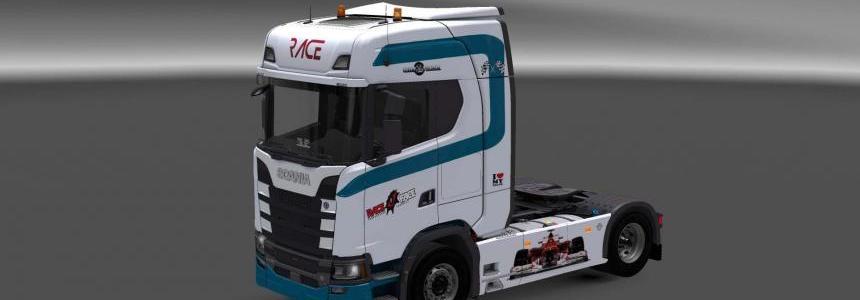 Scania S730 Race skin 1.27
