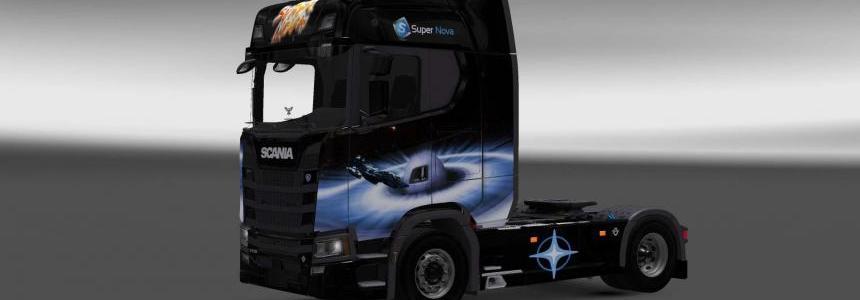 Scania S730 Supernova skin 1.27