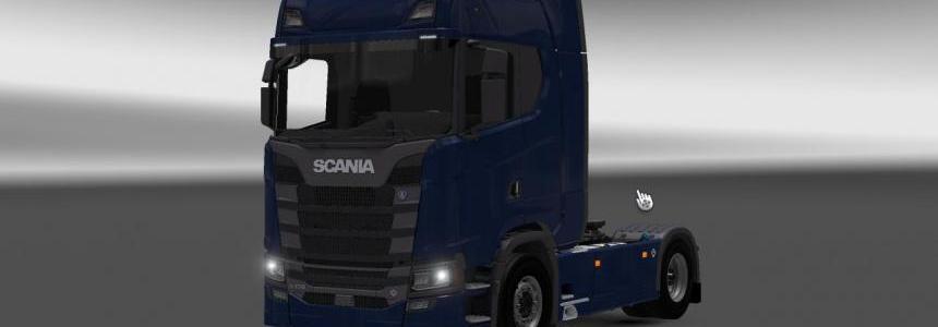 Scania S730 with interior v1.0