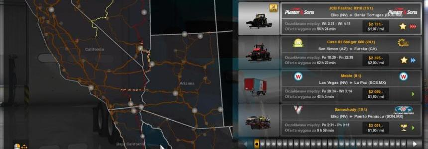 The new Color of the Road on the advisers and on the Map