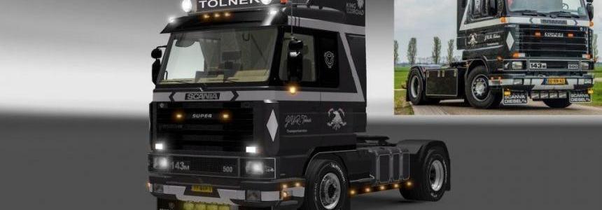 Tolner Scania 143 Skin