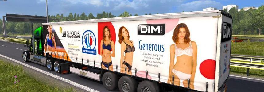 Trailer DIM Generous France
