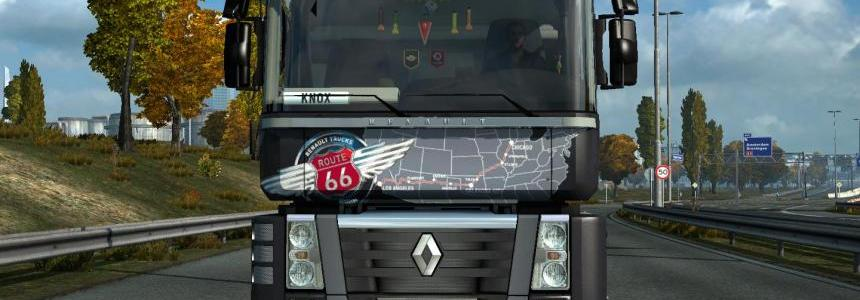 Update for the truck Renault Magnum v17.02 1.27.x