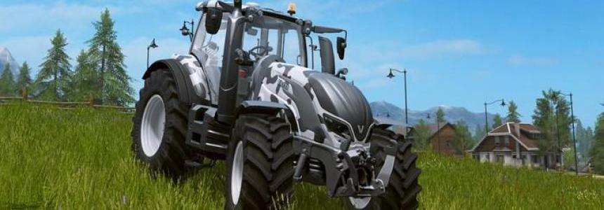 Valtra T cow edition