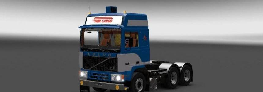 Volvo F10 Nor Cargo skin v1.0