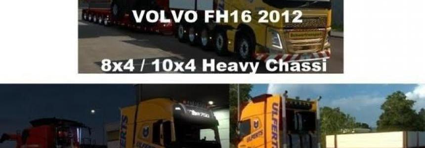 Volvo FH 2012 8x4 and 10x4 V9.1(1.27)