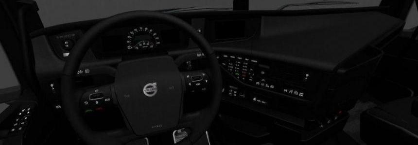 Volvo FH16 2012 Black Interior 1.27.x