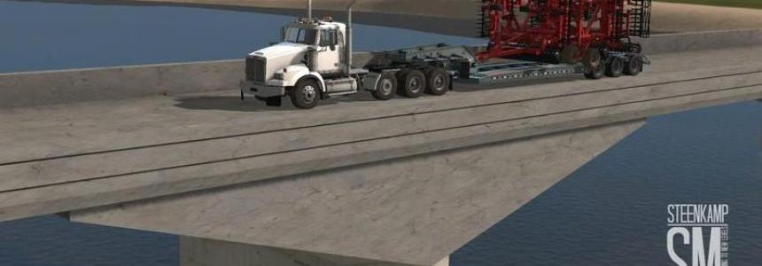 Western Star 4900 Steerable Tri Axle v1