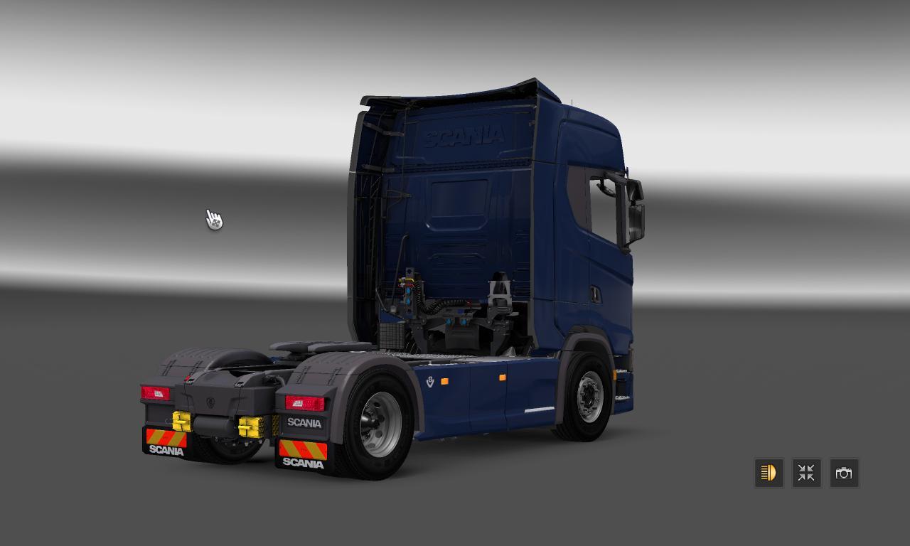Scania S730 + Interior [1.27.X]