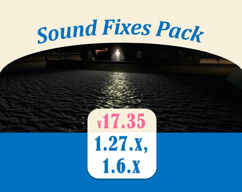 Sound Fixes Pack v17.35