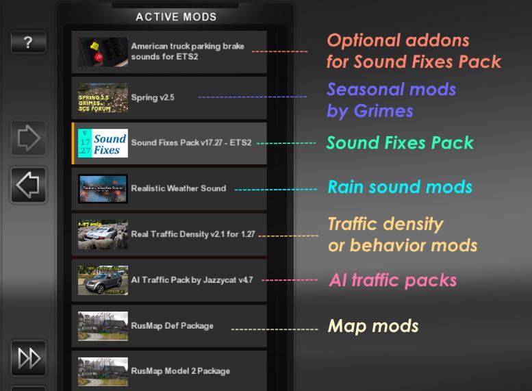 Sound Fixes Pack v17.35