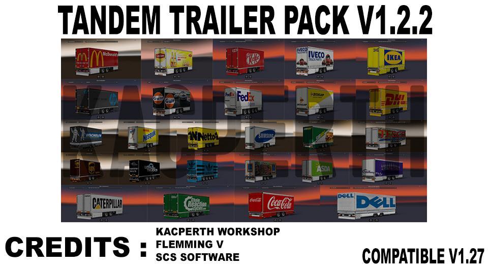 Tandem Trailer Pack V1.2.2 [1.27.X]