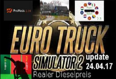Reale gasprices / Dieselpreise update 24.04 v1.4.1