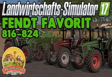 Fendt Favorit 816-824 v3.0 Final