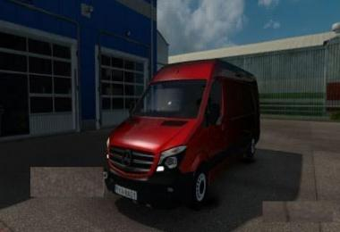 Mercedes Sprinter Long 2015 by klolo901