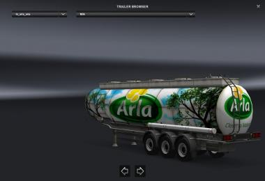 Arla Milk Trailer V2.0