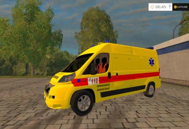 Belgian Ambulance (Fire dept.) v1.0