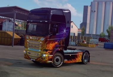 Chassis from Scania R to Scania S v1.0