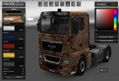 Cheat Skin for all SCS Trucks
