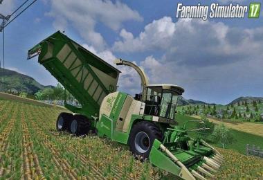 Combine Krone Big X 650 Cargo Pack