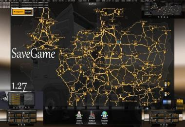 ETS 2 Save Game 1.27