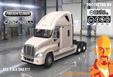 FREIGHTLINER CASCADIA 1.6.x