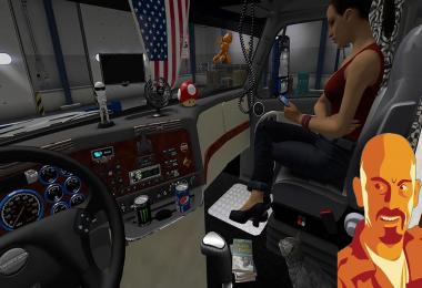 FREIGHTLINER CASCADIA DLCS ADDON ATS 1.6.x & ETS2 1.27.x