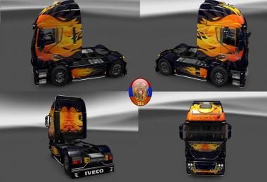 Iveco Hiway Skin Packs Flamenull 1.27.1.7s