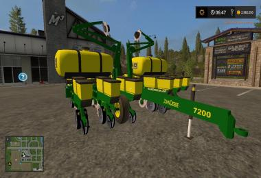 John Deere 12 row seeder v1.0
