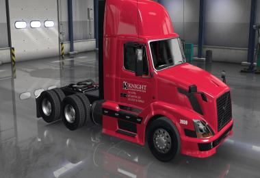 Knight Transport skin for Volvo shop v3.0
