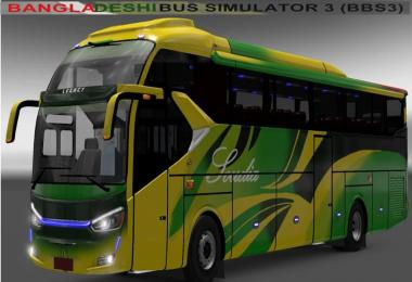 Laksana SR2XHD Bus with BD Skin v1.0