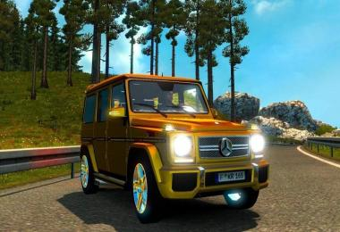 Mercedes Benz G Class by Elaman edit Diablo Crazy Squirrel