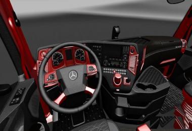 Mercedes MP4 Red Black Interior