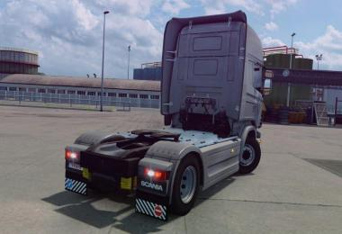 Mod produces a standard rear bumper from Scania S to Scania R