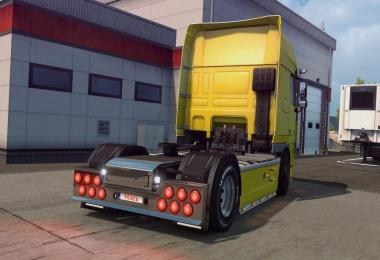 Mod produces rear bumpers from Scania to DAF XF105
