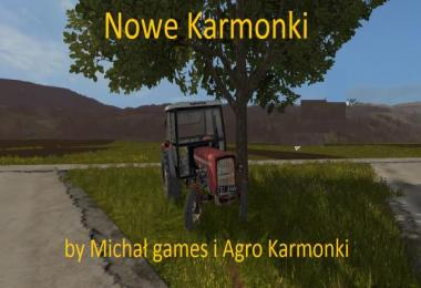 Nowe Karmonki Map by Michal