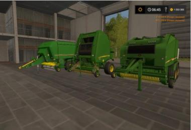 Pvak tubepress John Deere v3.0 for FS2017