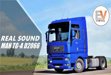 Real Sound MAN TGA 18.430 D 2066 Engine voice records v1