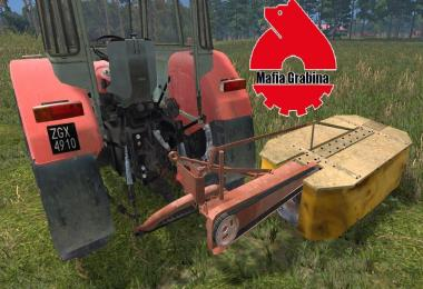 Rotary mower Z-173 with real textures (FS15) v1.0