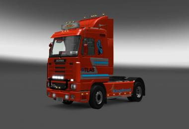 Scania 143M Atlas skin 1.27