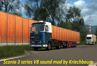 Scania 3 Series V8 Sound Mod v1.0