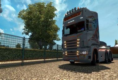 Scania RJL Boss Truck Skin