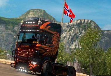 Scania RJL Griffin Killer Skin v1.0