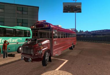 School Bus Freightliner F65 Beta American Truck